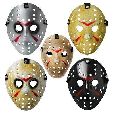 Friday the 13th Jason Maske Hockeymaske für Erwachsene Halloween