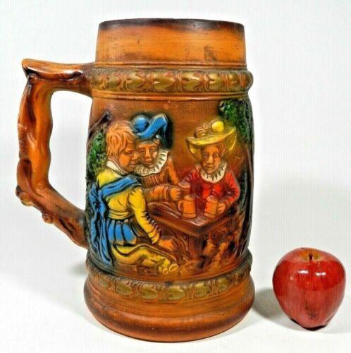 Vintage Large Beer Mug Stein Pottery