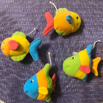 Fisher Price Ocean Wonders Aquarium Fish Baby Swing 4 Mobile Toys