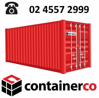 20FT Shipping Containers Wind & Water Tight - Price Includes GST