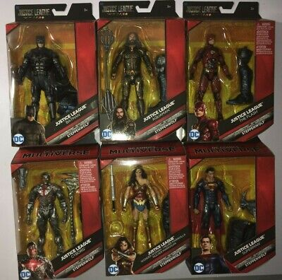 DC Multiverse Justice League Steppenwolf  6' Action Figure -Full Set Of 6 Look for sale  Shipping to India
