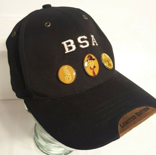 2005 Limited Edition BSA Boy Scouts of America 95th Anniversary Cap w/ 3 Pins