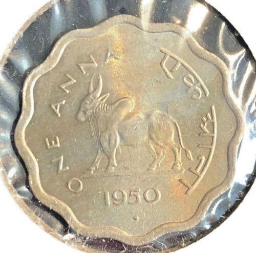 India 1950  Anna  KM 3.1  BU