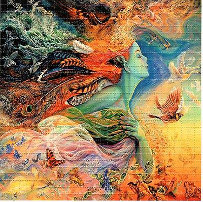 MOTHER NATURE - BLOTTER ART perforated psychedelic LSD Acid Art paper sheet tabs
