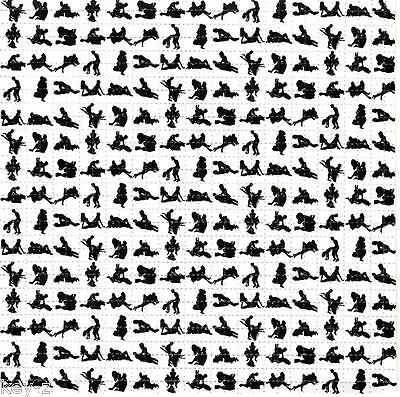 KAMA SUTRA-  BLOTTER ART perforated psychedelic LSD Acid Art paper sheet tabs