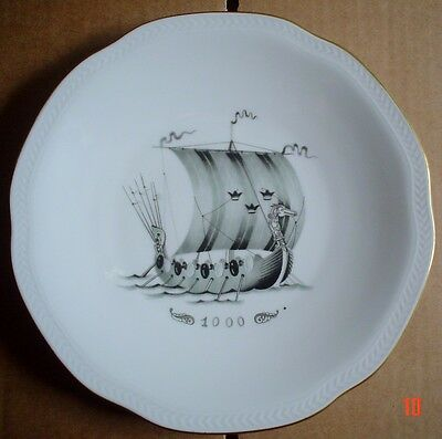 Rörstrand Collectors Plate WITH COMPLIMENTS OF SVENSKA ORIENT LINIEN 1000