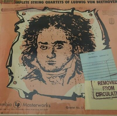 Budapest String Quartet The Complete String Quartets Of Ludwig Von Beethoven