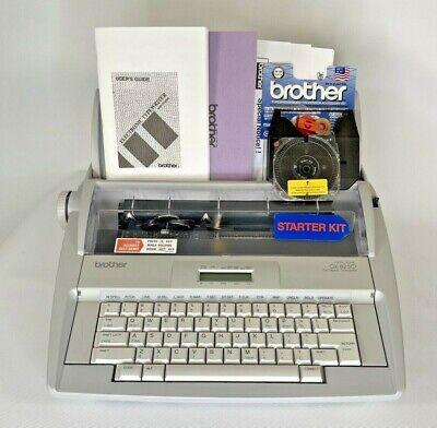 Mint - Brother Gx-8250 Electric Typewriter W Warranty Extras Please Read
