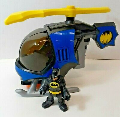 Fisher Price Imaginext Batman DC Superfriends Helicopter x2133