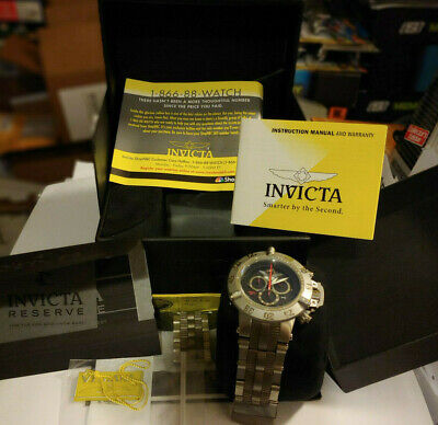 INVICTA SUBAQUA NOMA III MODEL 6694 PROJECT ABDA SWISS MADE WATCH L/E 477/500
