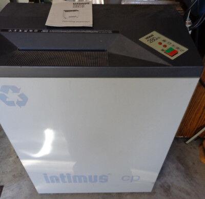Intimus 280cp Strip Cut Office Paper Shredder