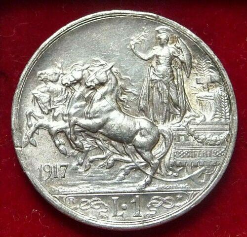 Kingdom of Italy - Vittorio Emanuele III - 1 Lire - 1917