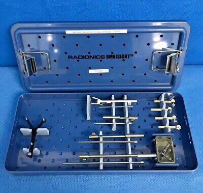 Radionics Os4200 Omnisight Spinalneuro Instrument Tray Spine Navigational