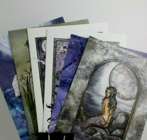 Amy Brown Greeting Cards & Envelopes Six Different Fairies ~ Free Shipping