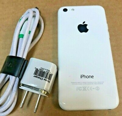 Apple iPhone 5c -16GB-White  A1532,unlocked (Verizon, AT&T, T-Mobile, MetroPCS)