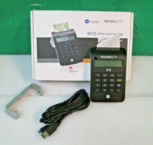ReinerSCT cyberJack Universal RFID Chip Card Reader Solisystems 2718800-101