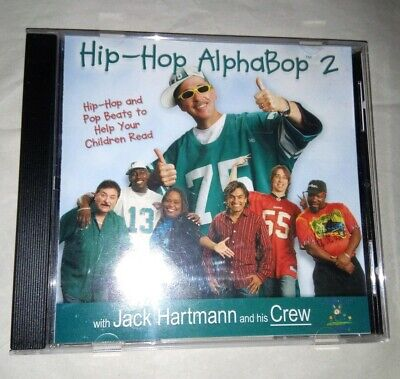 Hip-Hop AlphaBop 2 by Jack Hartmann (CD, Hop 2 It Music) ()