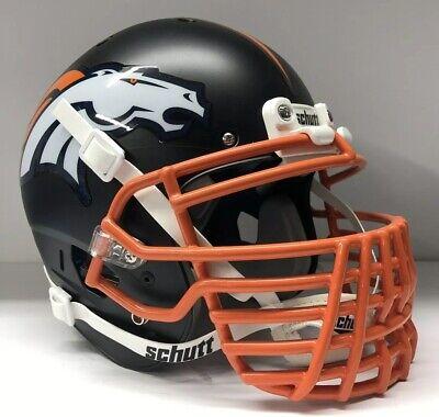 Denver Broncos Grill (Denver Broncos Full Size Authentic Schutt XP Custom Football Helmet Big)