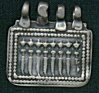 Amulet/Pendant Of 7 Form Of Different Goddess Print On Silver Amule EBAY NO. 209