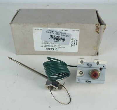 Henny Penny 3014.0326 Combi Steam Oven High Limit Safety Overheat Thermostat