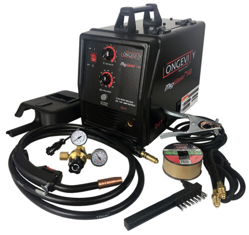 Longevity MIGWELD 140, 140 Amp 110V MIG Welder (Spoolgun Capable)