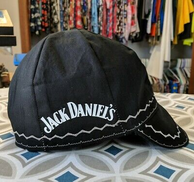Wendys Welding Hat Made With Jack Daniels Application New
