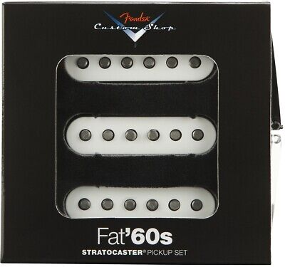 NEW Fender Custom Shop Fat 60s PICKUP SET Pickups Stratocaster Strat 0992265000