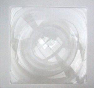 gro e starr acryl fresnel objektiv solar lupe ofen herd 15 x15 395x395mm ebay. Black Bedroom Furniture Sets. Home Design Ideas