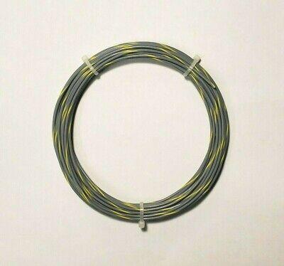 20 Awg Mil-spec Wire Ptfe Grey Yellow Spc 25 Ft