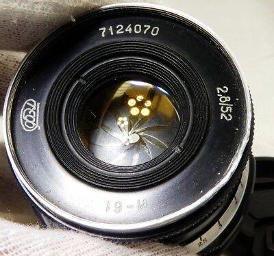 Industar 52mm f2.8 L39 M39 Leica mount Lens adapted Nikon 1 mirrorless cameras
