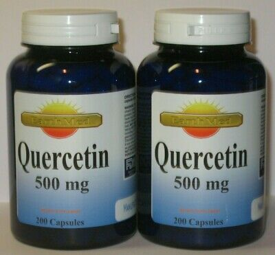 Quercetin 500mg   400 Capsules Expires 2025  Made in USA