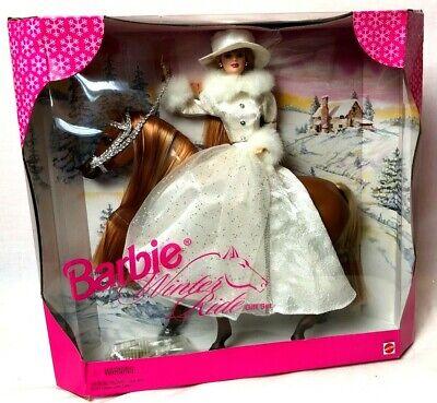 Barbie Winter Ride Gift Set Barbie and horse Mattel #19850 1998 NRFB