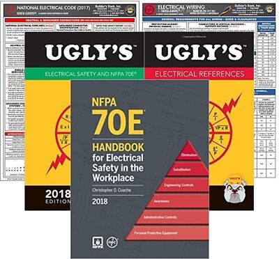 2018 NFPA 70E : Standard for Electrical Safety in Workplace, Handbook, Package