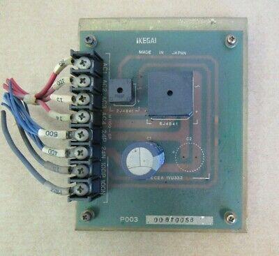 Ikegai Cnc Lathe Circuit Board P003 00670058