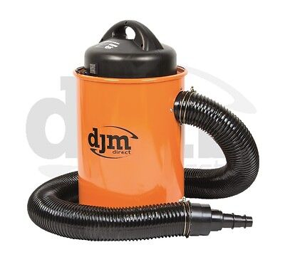 New DJM Workshop 1100w Dust & Chip Collector Extractor 50 Litre Hose & Adaptor