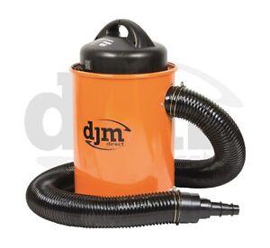 New DJM Workshop 1100w Dust & Chip Collector Extractor 50 Litre Hose & Adaptor