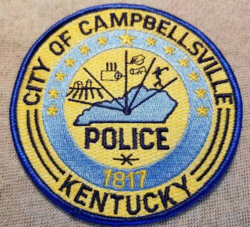 KY Campbellsville Kentucky Police Patch