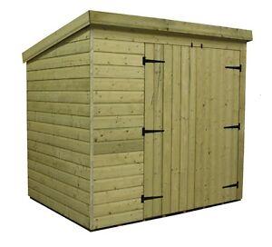 Wooden Garden Sheds 8x8 Ebay