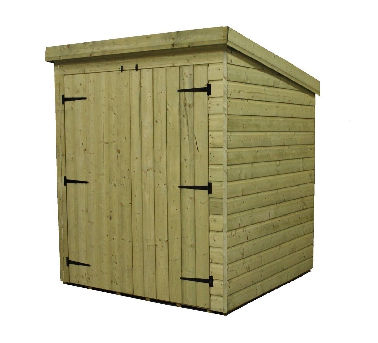 Garden Shed 6x4 Pent Shed Pressure Treated Tongue And