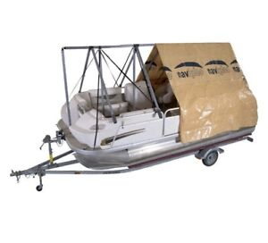 Navigloo Winter Shelter System for Pontoon Boats