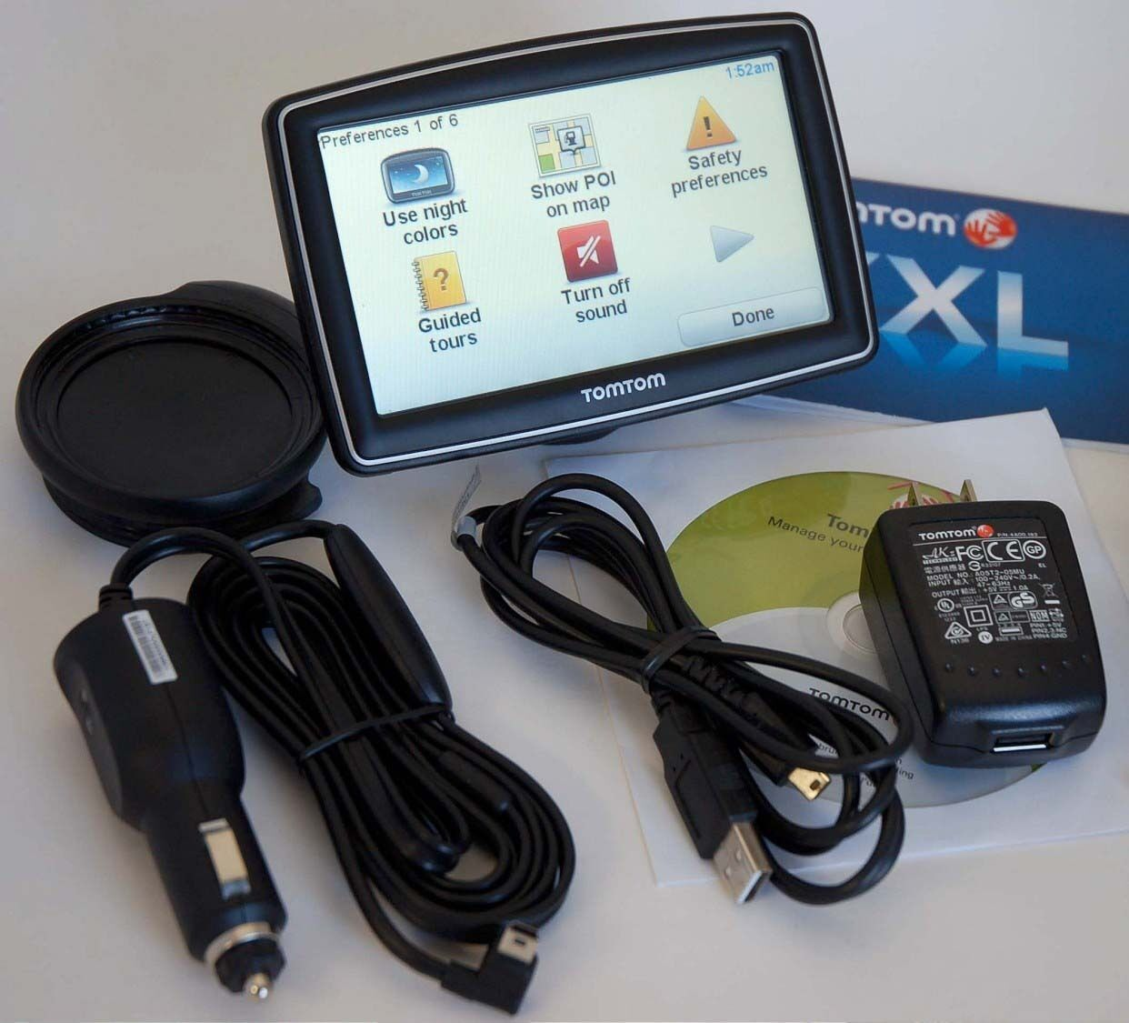 New Tomtom Xxl 540s Car Gps 5 Quot Lcd Usa Canada Mexico Maps