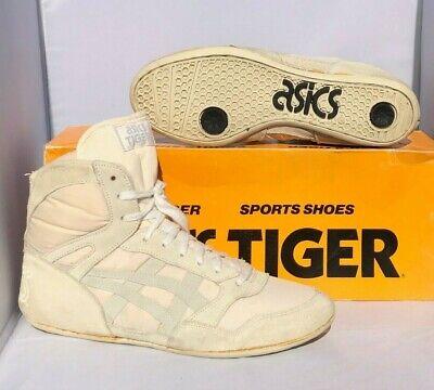 used asics wrestling shoes 1970