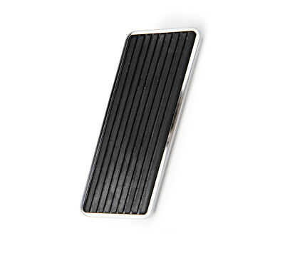 1965 -  68 Ford Mustang Replacement Accelerator Pedal Pad w/Stainless Steel Trim