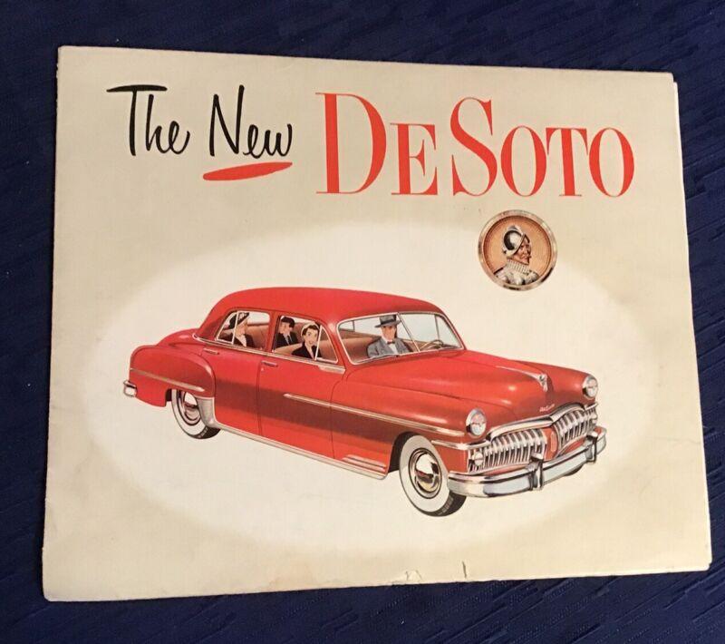 Salesman Brochure The New Desoto 1949