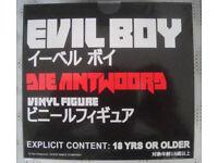 DIE ANTWOORD EVIL BOY VINYL FIGURE Black NO Box