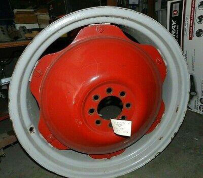Massey Ferguson 135 Tractor Rear Wheels Rims Pair 193701m1 194482m91