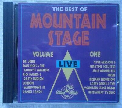The Best of Mountain Stage Live, Vol. 1 by Various Artists (CD, May-1991, Blue