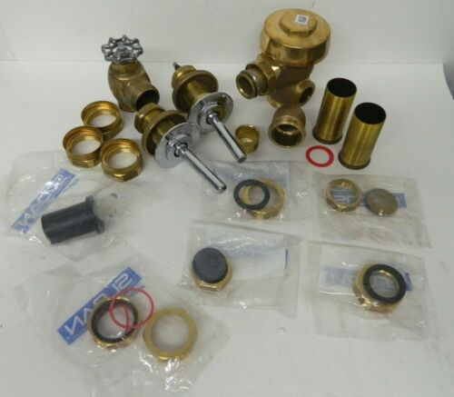 SLOAN 144-1.6 gpf Brass Single Flush 3.75 LDIM Royal Manual Flushometer Parts