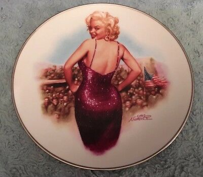 Marilyn Monroe Collector's Plate For Our Boys In Korea, 1954