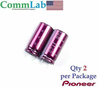 3000uf 16v Pioneer Audio Electrolytic Radial Lead Capacitor Bm - 2 Pcs